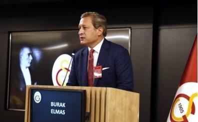 Burak Elmas: 'G.Saray'ı aydınlık bir geleceğe taşımak istiyoruz'