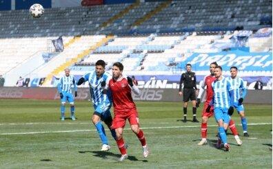 Erzurumspor ve Karagümrük puanları paylaştı!