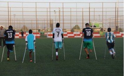 Ampute Süper Lig'in yeni ekibi Eyyübiye Belediyespor, 'asansör' takım olmak istemiyor