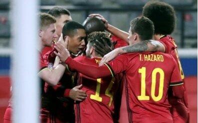 Belçika'nın EURO 2020 kadrosu belli oldu