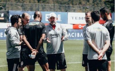 Beşiktaş'ta Sergen Yalçın, 3 futbolcuyla görüştü