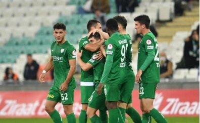 Bursaspor, 6 golle turladı