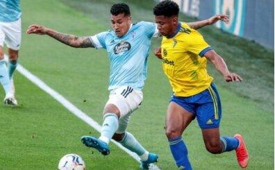 Cadiz Celta Vigo'yu 87 isabetli pasla mağlup etti