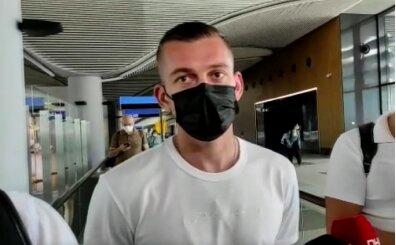 Alexandru Cicaldau, İstanbul'a geldi