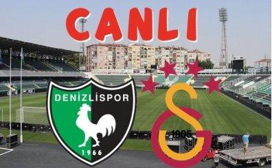 Denizlispor Galatasaray maçı İZLE, CANLI Denizlispor Galatasaray maçı burada