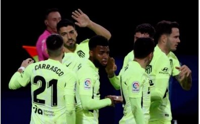 Luis Suarez Atletico'yu ipten aldı ve 3 puanı getirdi