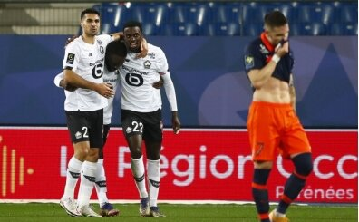 Lille 90+1'de galibiyeti aldı