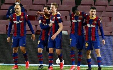 Lionel Messi coştu, Barcelona kazandı