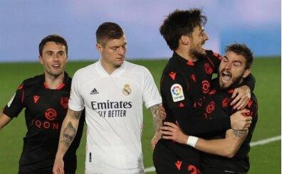 Real Madrid 1 puanı 89'da zor kurtardı