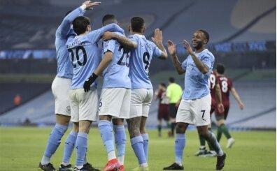 Manchester City üst üste 21. galibiyetini aldı