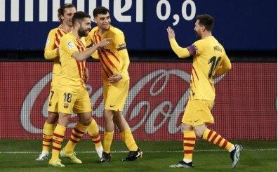 Barcelona bu kez Messi'nin asistleriyle güldü