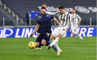 Juventus Morata ile Lazio'yu dize getirdi