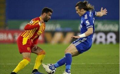 Türkler'in maçını kazanan Leicester City oldu