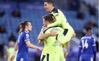 Leicester City'e sahasında şok yenilgi