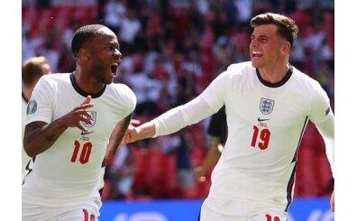 İngiltere'yi mutluluğa Raheem Sterling taşıdı!