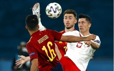 İspanya attı, Lewandowski kovaladı
