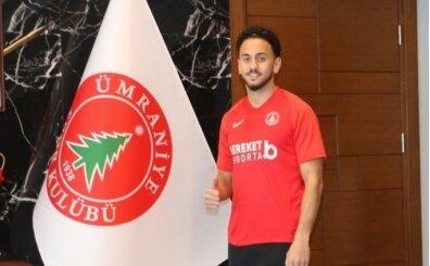 Ümraniyespor, Ahmet Canbaz'ı sezon sonuna kadar kiraladı