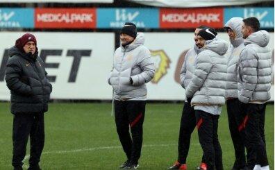 Galatasaray'da Diagne ve Sekidika kafilede yok