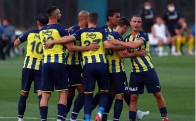 Fenerbahçe'de hazırlık maçları programı açıklandı
