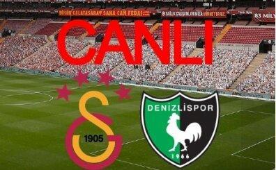GS Denizli maçı İZLE, Galatasaray Denizlispor canlı maç izle