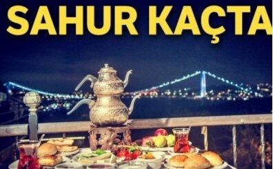 Ankara sahur vakti? Ankara'da kaçta oruca kalkılır?