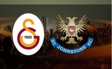 GS St. Johnstone maçı canlı izle! Galatasaray şifresiz canlı yayın
