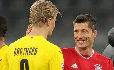 Haaland: 'Lewandowski bir deli, o çılgın'