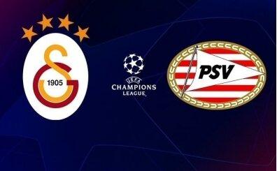 GS PSV maçı canlı izle, Galatasaray şifresiz canlı yayın