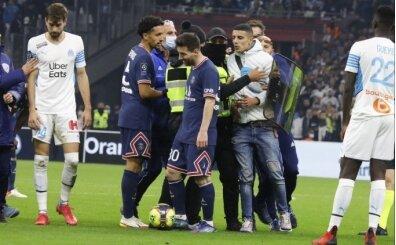 Marsilya-PSG maçında ilginç an!