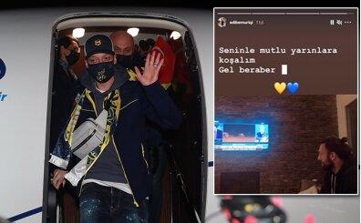Vedat Muriqi de Mesut Özil'i izledi