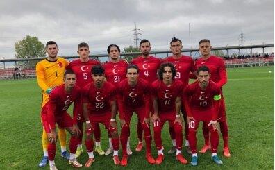 U19 Milli Futbol Takımı'nın kadrosu açıklandı