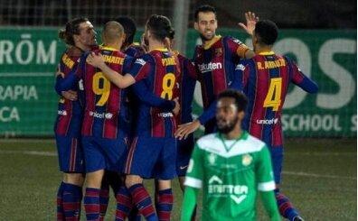 2 penaltı kaçtı, Barcelona Kral Kupası'nda uzatmalarda turladı