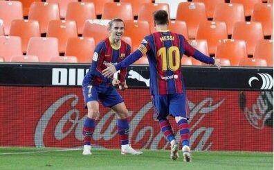 Griezman: 'Messi'ye kavun verin, onu havyar yapar'