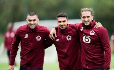 Lille'in 3 atlısı: Burak, Yusuf, Zeki
