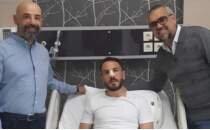 Konyaspor kaptanı Ali Çamdalı ameliyat oldu