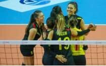Voleybolda olaylı İzmir derbisini Göztepe kazandı!