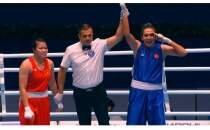 Trabzonspor'dan dünya şampiyonu Busenaz Sürmeneli'ye kutlama