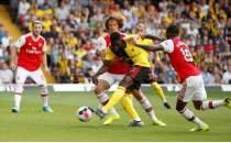 Arsenal, galibiyeti elleriyle verdi!