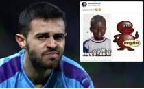Bernardo Silva'ya 'ırkçılık içeren' mesajından dolayı 1 maç men