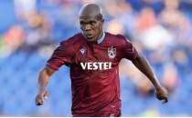 Trabzonspor'da Nwakaeme durdu