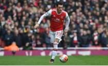 Özil'e Arsenal U23 maçında tepki