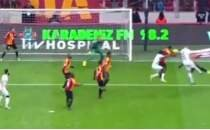 Galatasaray - Denizlispor maçındaki konuşulan Falcao pozisyonu