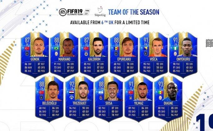 FIFA 19 UT'DE YILIN TAKIMI!