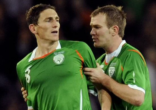Keith Andrews ve Glenn Whelan
