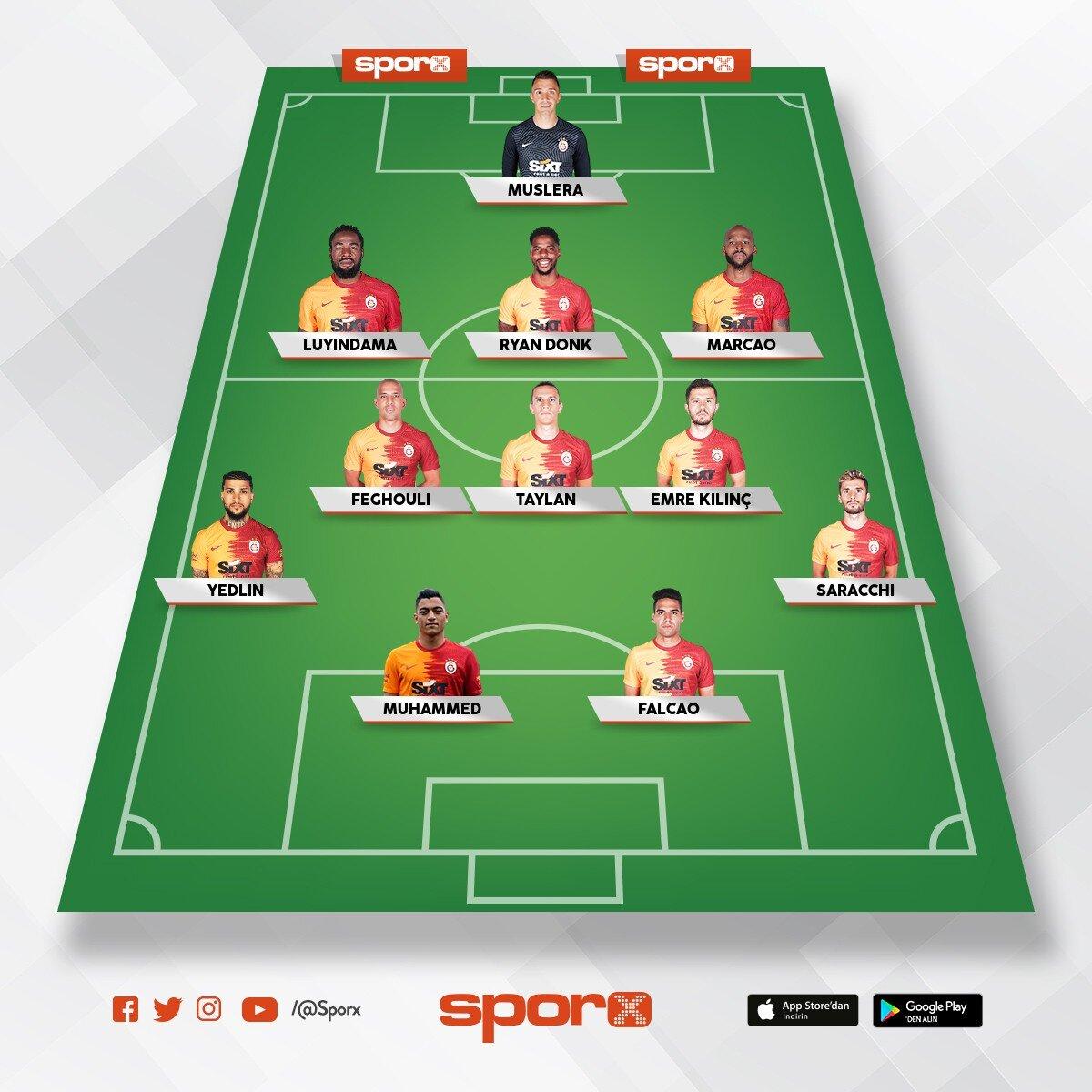 3 5 2 Galatasaray